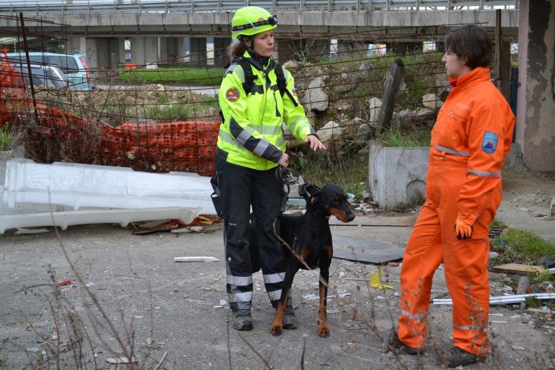 šolanje vodnika reševalnega psa